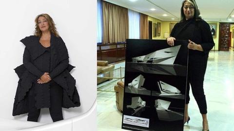 Zaha hadid designers artefolio for Mesa table design by zaha hadid for vitra